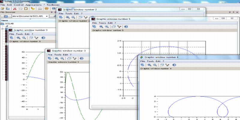 Grafici con Scilab