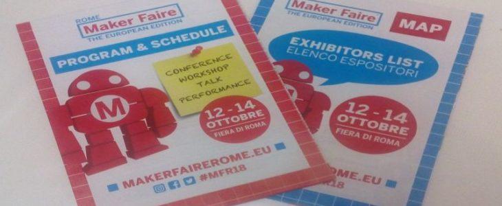 Sfondo Depliant Maker Faire